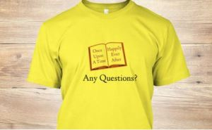 Great shirt for any booklover from the avid reader to the best selling author